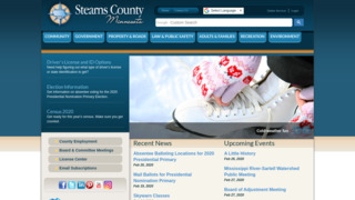 Stearns County Government , Minnesota