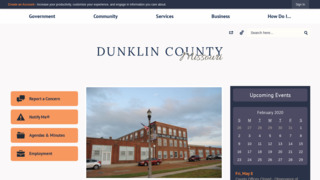 Dunklin County Government , Missouri
