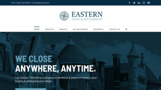 Eastern Title and Settlement