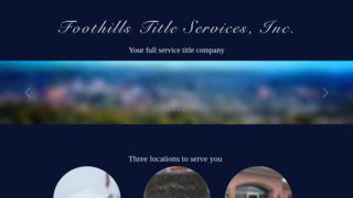 Foothills Title Services Inc.