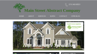 Main Street Group Inc