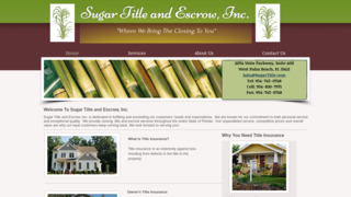 Sugar Title and Escrow, Inc.