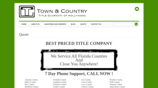 Town & Country Title Guaranty & Escrow