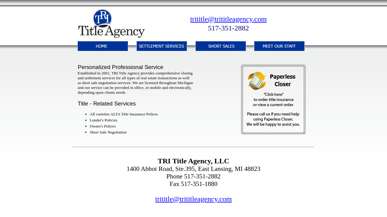 Tri-Title Agency