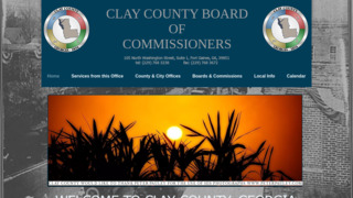 Clay County Government, Georgia