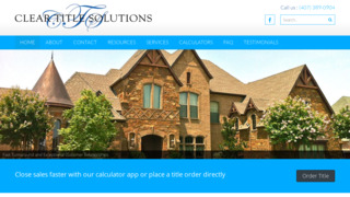 Clear Title Solutions