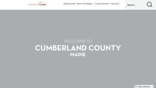 Cumberland County Government , Maine