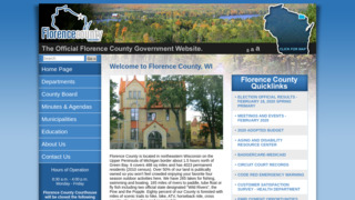 Florence County Government , Wisconsin