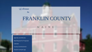 Franklin County Government , Maine