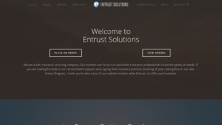 ENTRUST SOLUTIONS, LLC