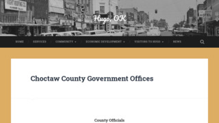 Choctaw County Government , Oklahoma