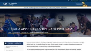 St. Petersburg College IT Apprenticeship Program