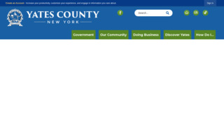 Yates County Government , New York